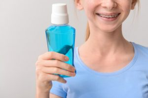 mouthwash with braces